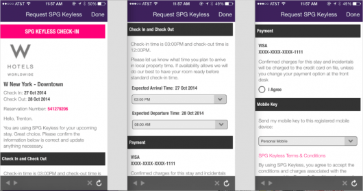 The SPG Keyless App is easy to apply for and add to your existing SPG App