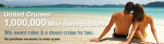 Win miles and a cruise from United Cruises
