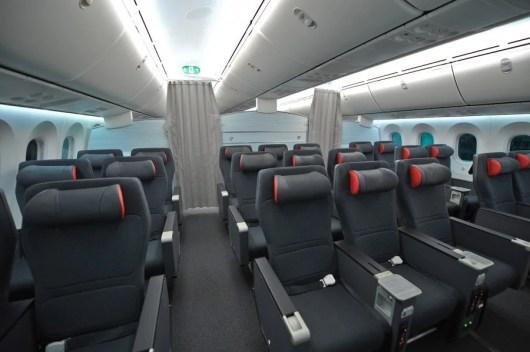 Air Canada's 787 premium economy looks pretty swanky.