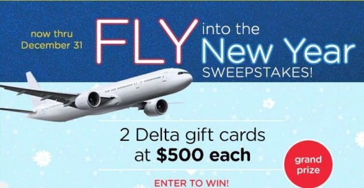 Win two Delta gift cards