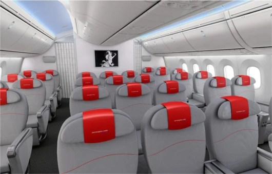 Norwegian flies its Dreamliners to various smaller US airports.