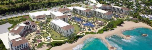 The new Hyatt Ziva Rose Hall on Jamaica is an all-inclusive resort.