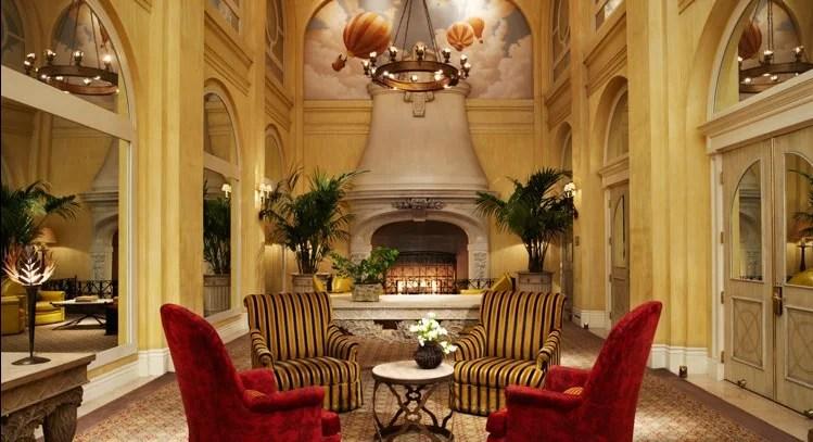 The lobby at Kimpton's Donovan House in Washington, D.C.