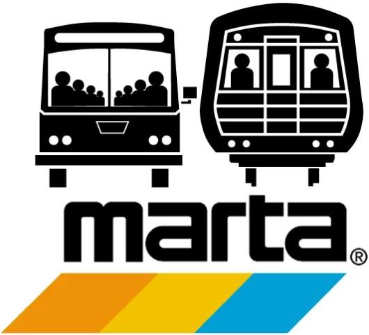 MARTA is short for Metropolitan Atlanta Rapid Transit Authority