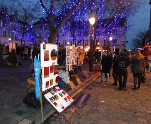 Montmartre Place du Tertre (photo courtesy of Elise Bondel)