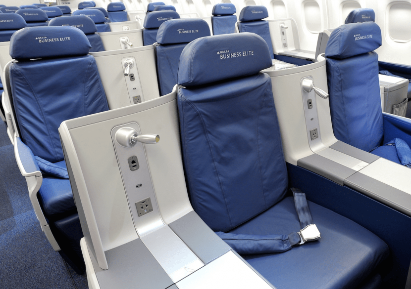 The new flights on their 767-300ER will feature 26 BusinessElite seats.