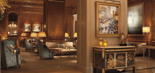 The sign-up bonus on this card can get you two nights at the most luxurious Ritz properties in the world, including the Ritz-Carlton New York Central Park.