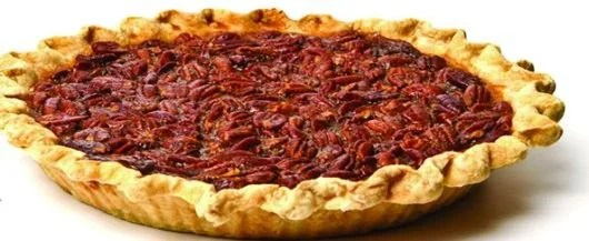 Pecan pie at Sweet Creations.