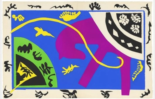 The Horse, the Rider, and the Clown (Matisse, 1943-44)