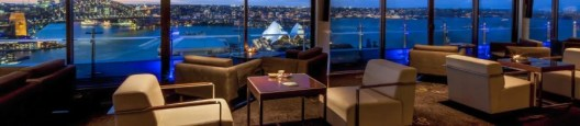 Enjoy spectacular panoramic views of Sydney Harbour from the club lounge at the InterContinental Sydney.