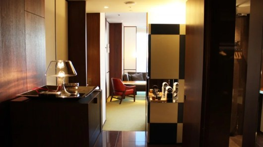 My room at the Andaz Tokyo.