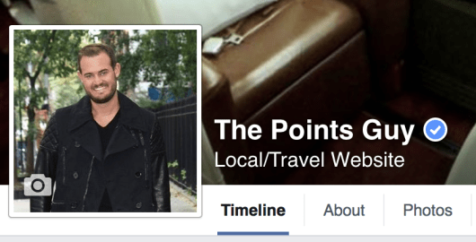 We just hit 100,000 Facebook likes on The Points Guy Facebook page.