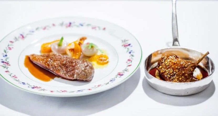 French perfection at Alain Ducasse at the Dorchester.