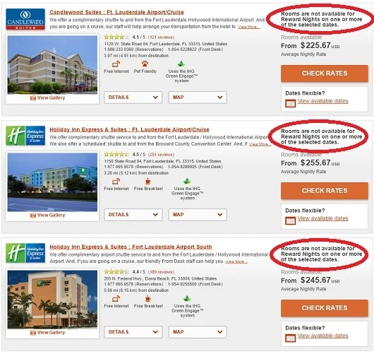 Unfortunately, IHG does not make all standard rooms available for award nights.