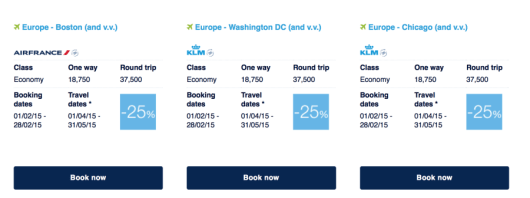 Air France has released their latest Promo Awards.