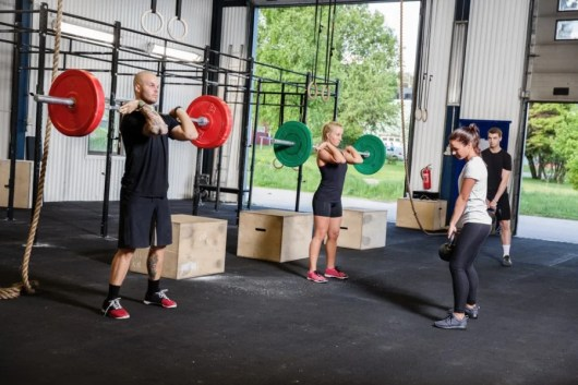 Don't be deceived by the minimalist style of the typical CrossFit gym. Image courtesy of Shutterstock.