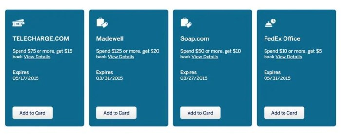 Amex Offers 1