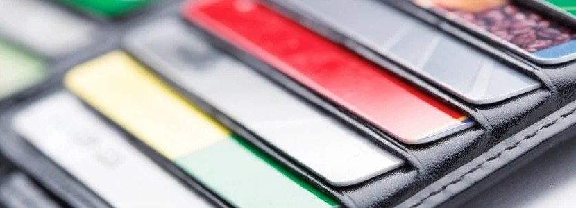 Those unused credit cards in your wallet are still useful! Image courtesy of Shutterstock.