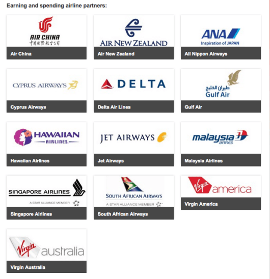 Virgin Atlantic has 13 other airline partners on which you can redeem your miles.