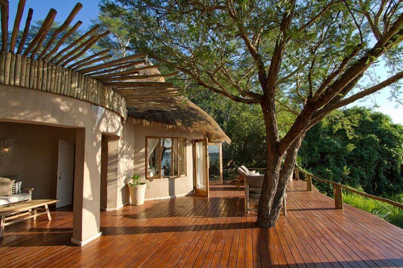 One of Tongabezi's newly renovated River Cottages. Photo credit: Tongabezi.