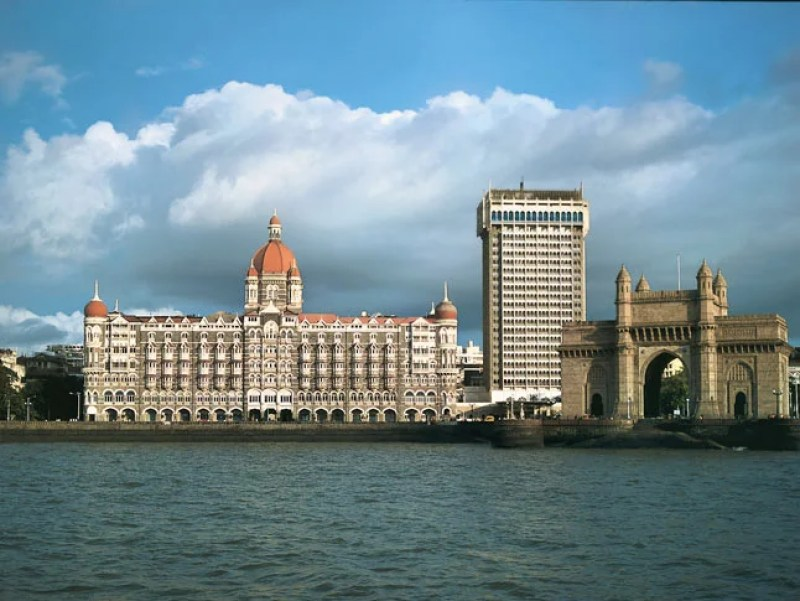 Taj Mahal Palace and the Gateway of India