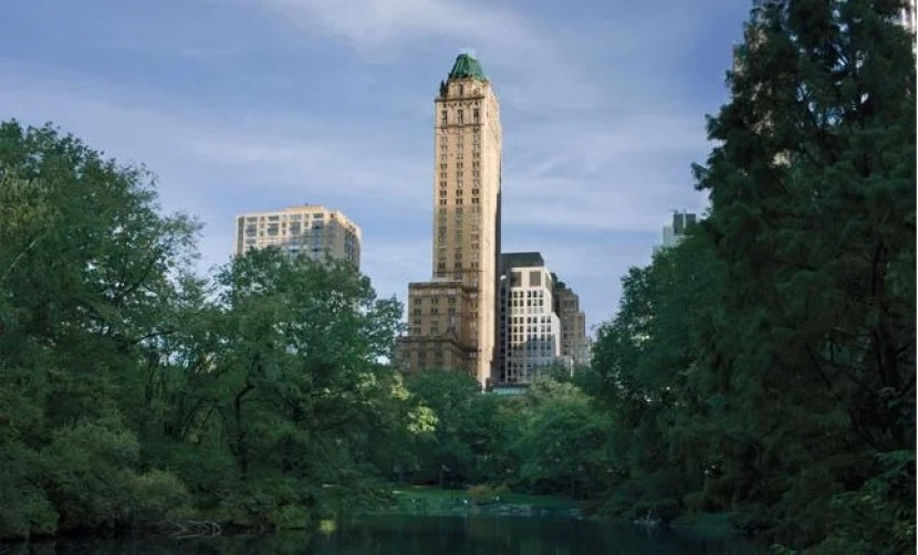 The Pierre overlooks Central Park