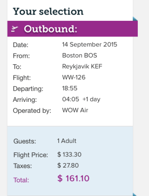 Head from Boston to Iceland for $161 one-way.