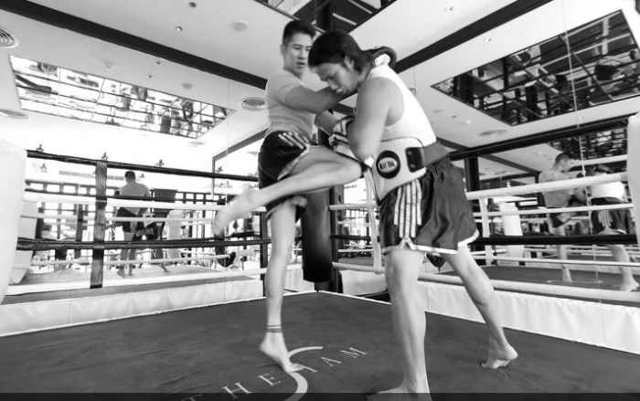The Siam Bangkok is famous for its Muay Thai boxing gym and classes