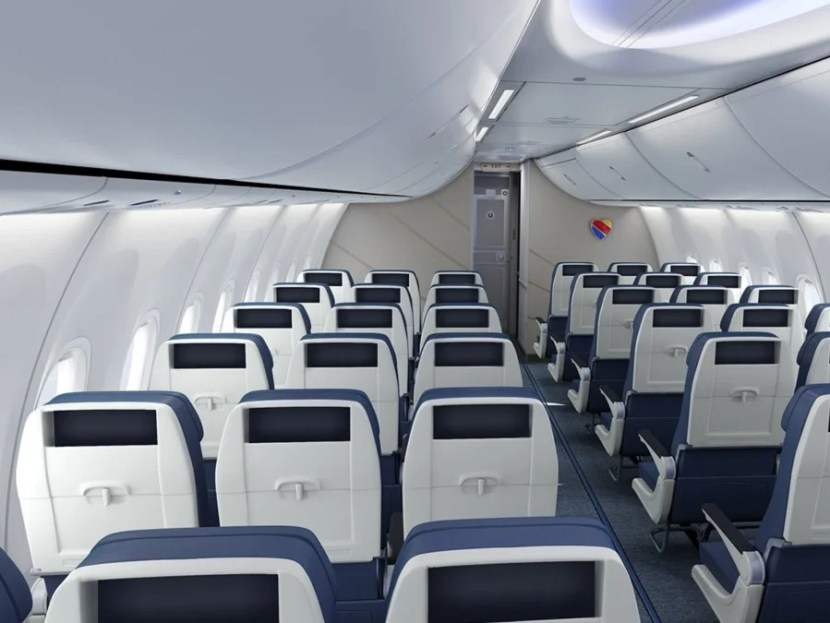The new seats are said to be the widest of any 737 U.S. carrier
