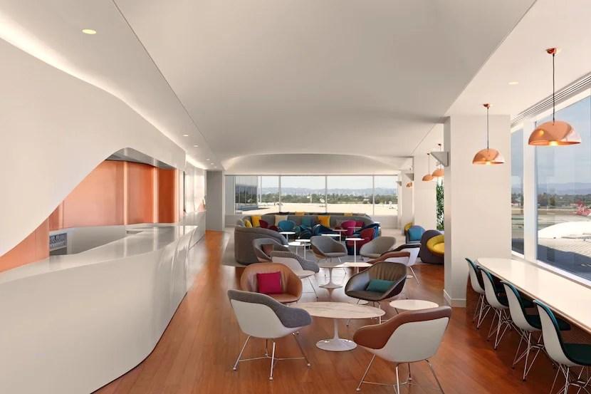 The main lounge area. Photo courtesy of Virgin Atlantic.