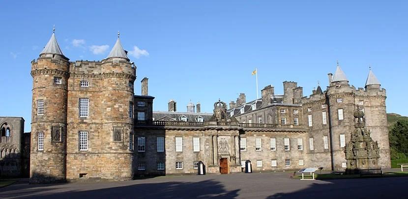 Palace of Holyroodhouse in Edinburgh. Photo by Kara Williams.