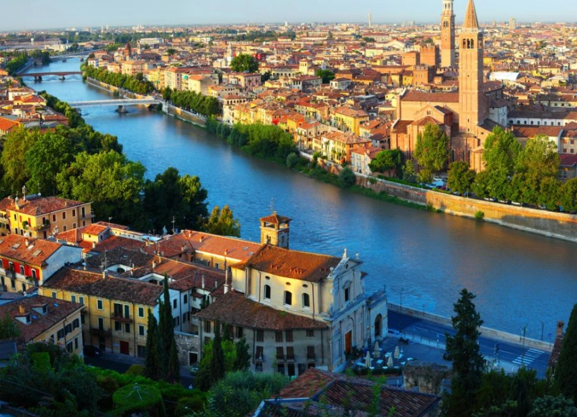Win a trip to Verona, Italy.  Photo courtesy of Shutterstock.