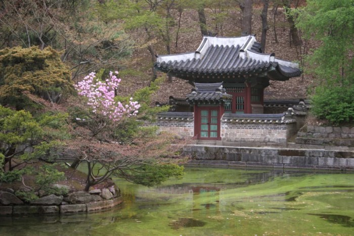 The secret garden is a picturesque spot you can see only by guided tour. Photo courtesy of Shutterstock.