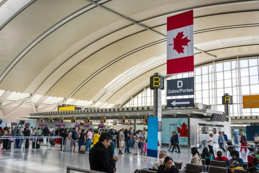 Toronto Pearson (YYZ) is Canada's largest airport. (Photo courtesy of Shutterstock)