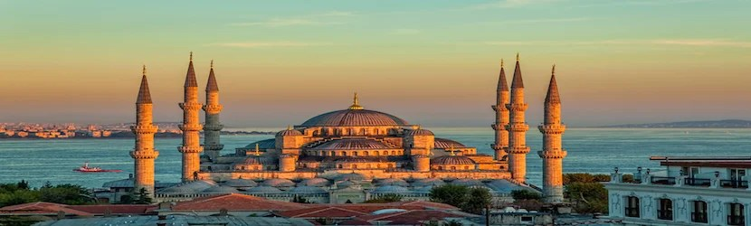 Istanbul would technically allow you to visit Europe and Asia on this combination. Photo courtesy of shutterstock.