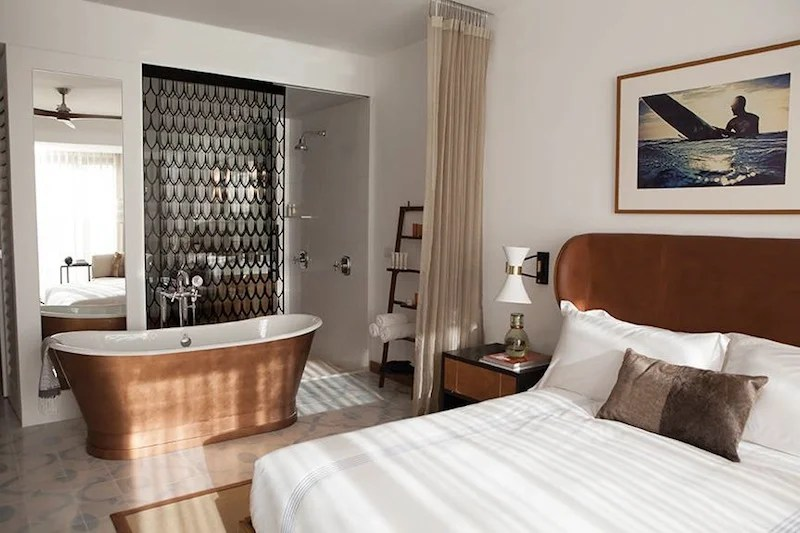 A guestroom at The Cape.