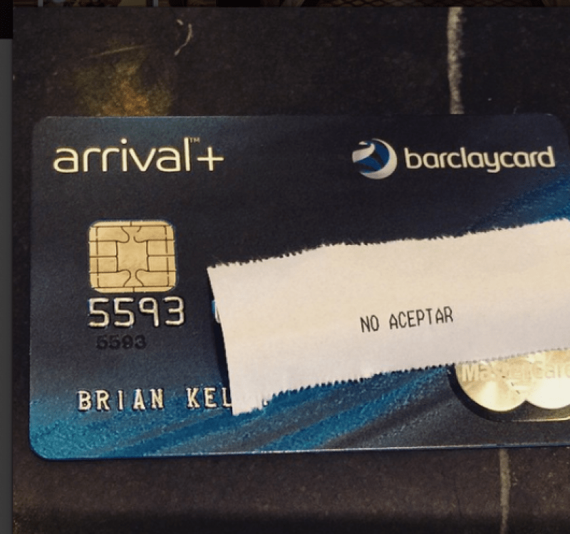 You still can't use your US-based credit cards in Cuba!