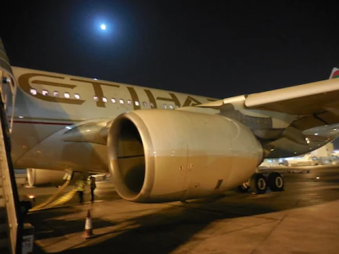 Once you step off the plane in Abu Dhabi, it's like you are dealing with a different Etihad than onboard.
