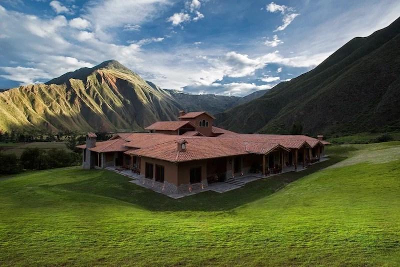 The new Inkaterra Urubamba in Peru's Sacred Valley.