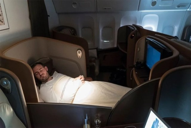 Rest assured, you'll find Singapore's first class on many routes.