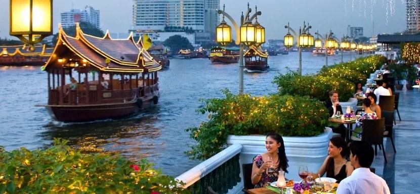 Mandarin Oriental Bangkok terrace