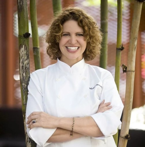 Delta hired chef Michelle Bernstein to oversee its menus.