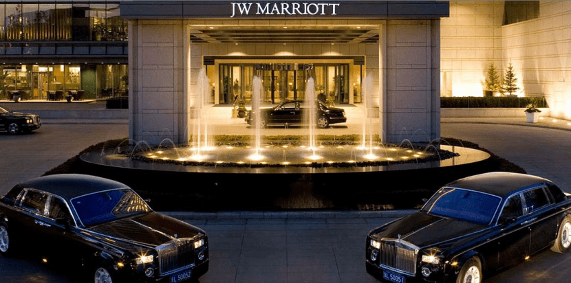 The J.W. Marriott Beijing is one Category 5 property with PointSavers availability next month.
