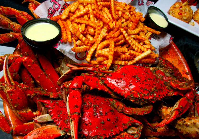 Crab fries (and crabs) at Chickie & Pete's