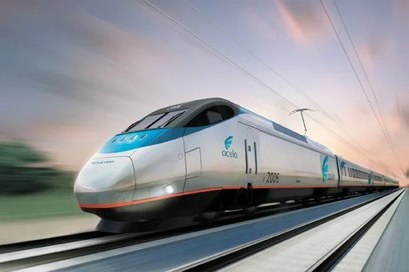 Amtrak's Acela Express operates between New York and DC.