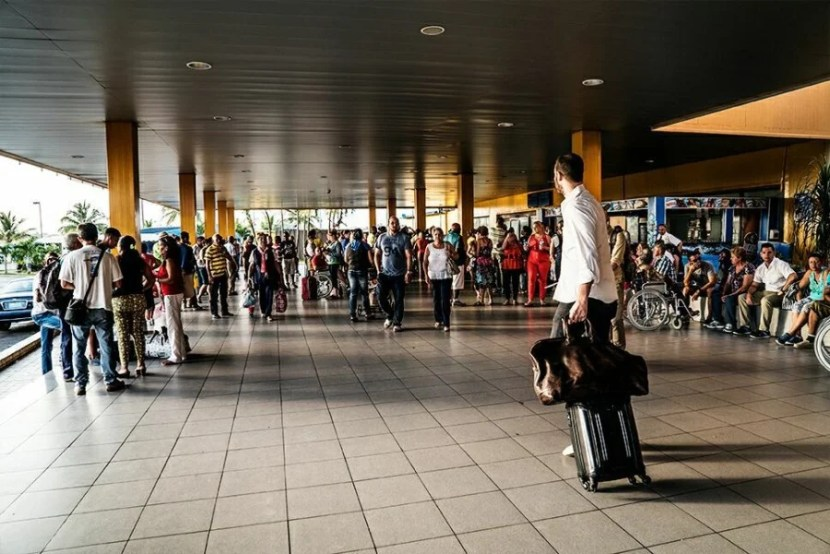 Havana's airport is small and easy to navigate.