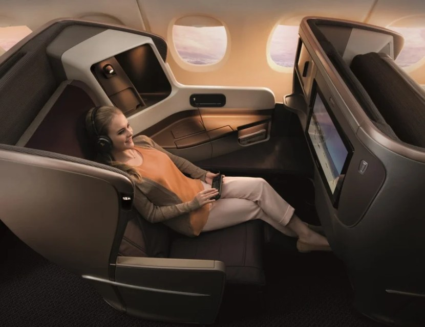 Singapore's new business class could be a variation of the airline's latest product.