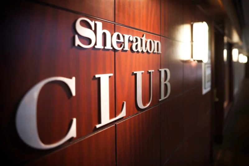 Sheraton plans to improve its club lounges by 2020.