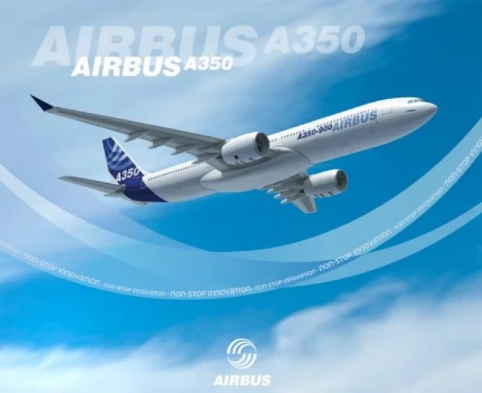 The new Airbus A350
