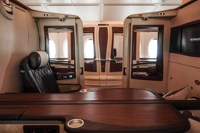 Singapore Suites on the A380.